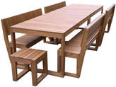 Large Lazy Boy Outdoor Table Set Variant: 10 Seater