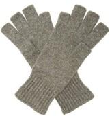 Thumbnail for your product : KHAITE Kai Cashmere Fingerless Gloves - Grey