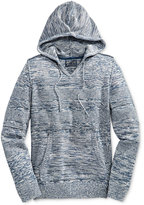 American Rag Men's Mix-Stitch Marled Hoodie, Only at Macy's