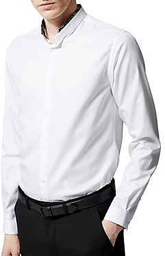 The Kooples Contrast Collar Shirt