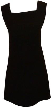 Courrã ̈Ges CourrAges Black Wool Dresses