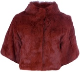 Betta Corradi rabbit fur jacket