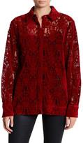 DKNY Lace Blouse