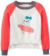 Roxy Girls' Hear It Loud Dog L/S Sweater (47) - 7531453