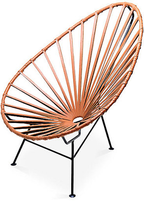 Mexa Acapulco Lounge Chair - Camel Leather