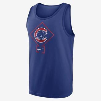 Nike Men's Tank Top Diamond Logo Classic (MLB Chicago Cubs)