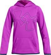 Under Armour Girls' Armour Fleece Dual Logo Hoodie