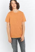 Uo Yellow Crewneck T-shirt