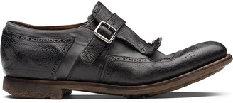 Church's Shanghai leather monk-strap shoes