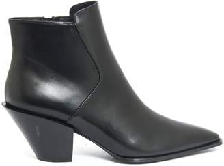 Roberto Festa Frediana Ankle Boot In Black Leather