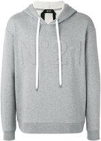 No.21 logo hoodie - men - Cotton/Polyamide - XS