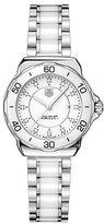 Tag Heuer Ladies Formula 1 White Ceramic Watch with Diamonds