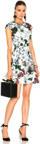 Erdem Darlina Yuki Garden Neoprene Jersey Dress