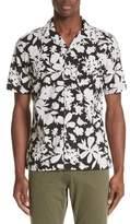 Todd Snyder Floral Print Camp Shirt