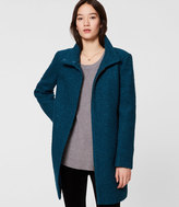 LOFT Petite Funnel Neck Coat