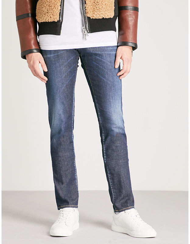 DSQUARED2 Faded-wash slim-fit skinny jeans