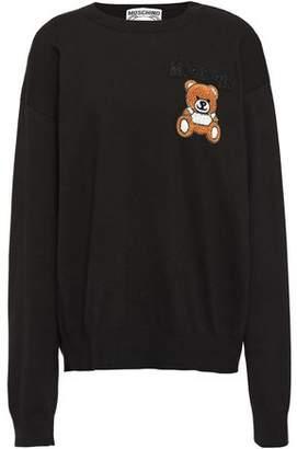 Moschino Embellished Cotton Sweater