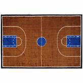 Asstd National Brand Basketball Court-Supreme Rectangle Rugs