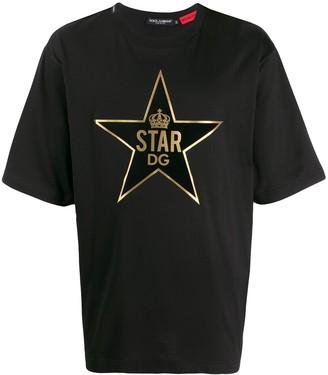 Dolce & Gabbana star print cotton T-shirt