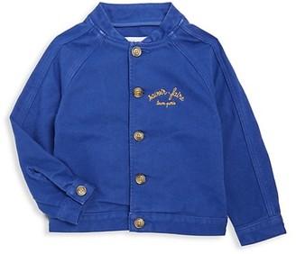 Maison Labiche Little Boy's Boy's Summer Chambray Bomber Jacket