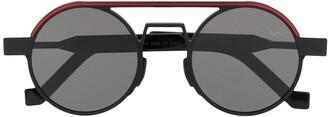 Va Va x Entrance round frame sunglasses