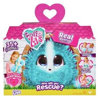 Scruff A Luvs Scruff-a-Luvs Real Rescue Blue Scruff