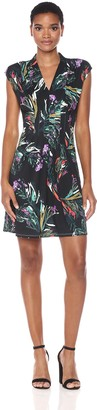 Catherine Malandrino Women's Tinka Dress-Brushstroke