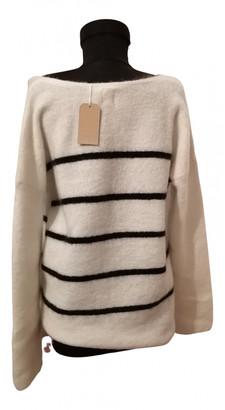 Des Petits Hauts White Wool Knitwear