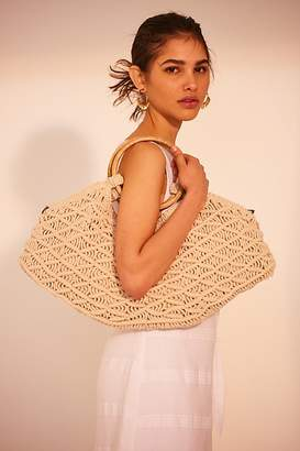 Free People Fp Collection Point Break Macrame Clutch by FP Collection at