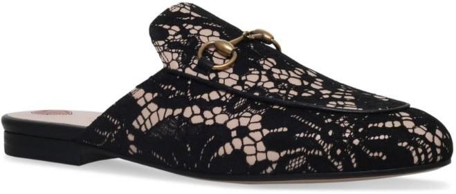 princetown lace slipper