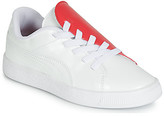 Puma PS BKT CRUSH PATENT AC.W-H girls's Shoes (Trainers) in White