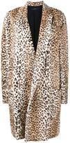 Ellery Leopard print coat