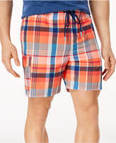 "Tommy Bahama Men's Naples Riviera Madras Classic-Fit Plaid Twill 6"" Swim Trunks"