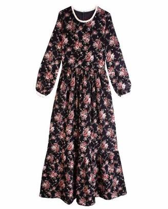 Meadows Jacaranda Dress Floral - 8