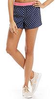 Jadelynn Brooke Anchor Printed Workout Shorts