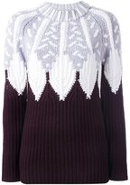 Peter Pilotto intarsia jumper - women - Polyamide/Wool - XS