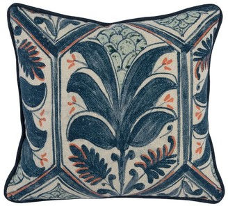 Pottery Barn Palm Pillow Cover