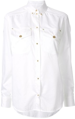 Versace button down shirt