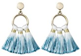 SUGARFIX by BaubleBar Ombré Tassel Drop Earrings