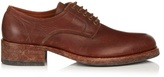 Maison Margiela Tarnished lace-up leather derby shoes