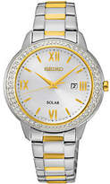 Seiko Women's Stainless Solar Two-tone Watch