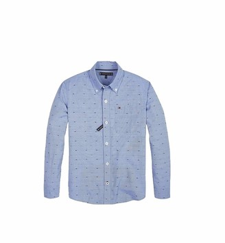 Tommy Hilfiger Boy's Mini Dobby Shirt L/s Blouse