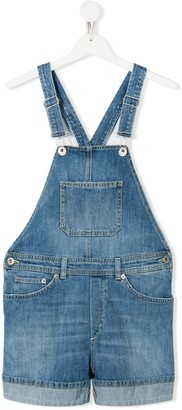 Dondup Kids TEEN crisscross back dungarees