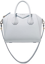 Givenchy Antigona Small Textured-leather Tote - Sky blue