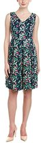 Nine West Women's Slvless Dress with Pleated Skirt