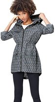 FIND Women's Printed Pac A Mac Jacket,(Manufacturer size: Small)