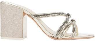 Sophia Webster Freya Embossed Glitter Sandals