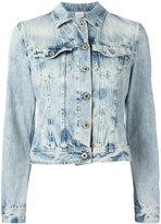 Dondup cropped denim jacket - women - Cotton - S