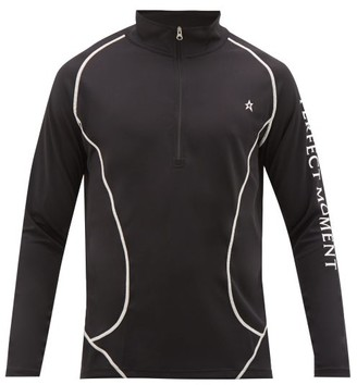 Perfect Moment Thermal Technical Stretch-jersey Sweater - Mens - Black