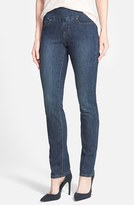 Jag Jeans 'Peri' Straight Leg Jeans (Anchor Blue) (Regular & Petite) (Online Only)